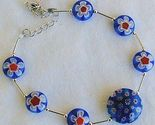 Blue morano flower bracelet 3 thumb155 crop