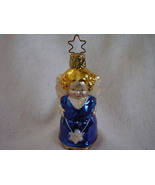 Inge Glas Angel Holding Star Christmas Ornament Retired - $22.00