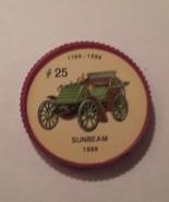 Jello Car Coins -- #25  of 200 - The Sunbeam - $10.00