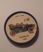 Jello Car Coins -- #32 of 200 - The Franklin - $10.00
