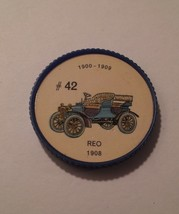 Jello Car Coins -- #42  of 200 - The REO - $10.00