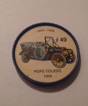 Jello Car Coins -- #49  of 200 - The Pop-Toledo - $10.00