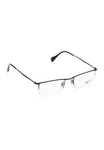 ray ban half frame eyeglasses  Ray-Ban RX6291 2509 Black Eyeglass Frame and 50 similar items