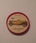 Jello Car Coins -- #67  of 200 - The Doble-Detroit - $10.00