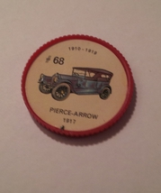 Jello Car Coins -- #68  of 200 - The Pierce-Arrow - $10.00