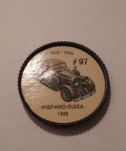 Jello Car Coins -- #97  of 200 - The Hispano-Suiza - $10.00
