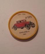 Jello Car Coins -- #111  of 200 - The Oakland 8 - $10.00