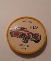 Jello Car Coins -- #125 of 200 - The Bugatti - $10.00