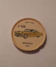 Jello Car Coins -- #159of 200 - The Monarch - $10.00