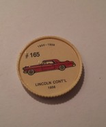 Jello Car Coins -- #165  of 200 - The Lincoln Continental - $10.00