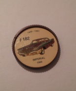 Jello Car Coins -- #182 of 200 - The Imperial - $10.00