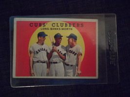 1959 Topps Baseball Card # 147 Cubs Clubbers - $4.00