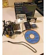 Panasonic Lumix DMC-FX8 5.0 Megapixels Digital Picture Camera Bundle EUC - $44.50