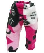 "(I20B35) Clothes American Handmade Pink Cat Pants 18"" Inch Dolls  - $9.99"