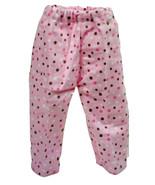 "(I20B35) Clothes American Handmade Pink Poke-A-Dot Pants 18"" Inch Doll  - $9.99"