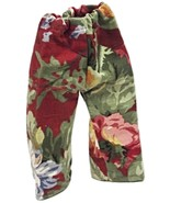 """(I20B35) Clothes American Handmade Red Floral Pants 18"""" Inch Doll - $9.99"""