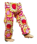 """(I20B35) Clothes America Handmade Pink Floral Pants 18"""" Doll - $9.99"""