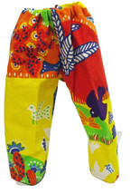 """(I20B35) Clothes American Handmade Red Cactus Birds Pants 18"""" Inch Doll - $9.99"""
