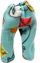 "(I20B35) Clothes American Handmade Blue Cats Kites Flowers Pants 18"" Doll  - $9.99"