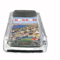Boston, Fenway Park, Red Sox, Glass Square Ashtray 146 - $13.48