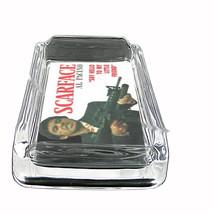 Scarface Al Pacino Little Friend Glass Square Ashtray 341 - $13.48
