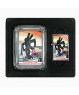 Keith Haring Photo & Sculpture Glass Ashtray Oil Lighter Set 427 - $15.48