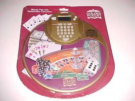 Landry Restaurant Golden Nugget Poker Vegas Mouse Pad Detachable Calcula... - $16.45