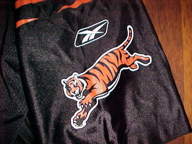 70d444a24 Reebok NFL Cincinnati Bengals Peter Warrick  80 Black Football Jersey 2XL  Free.