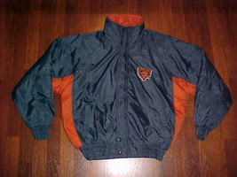 Competitor NFL Gameday Chicago Bears Navy Blue Ornage Jacket M Free shipping image 2