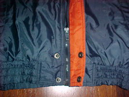 Competitor NFL Gameday Chicago Bears Navy Blue Ornage Jacket M Free shipping image 7