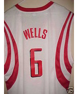 NBA Houston Rockets Bonzi Wells #6 Replica Jersey 2XL - $32.90