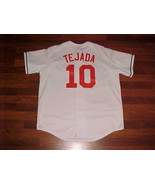 Majestic MLB Baltimore Orioles Miguel Tejada #10 White Jersey XL Free shipping - $56.09