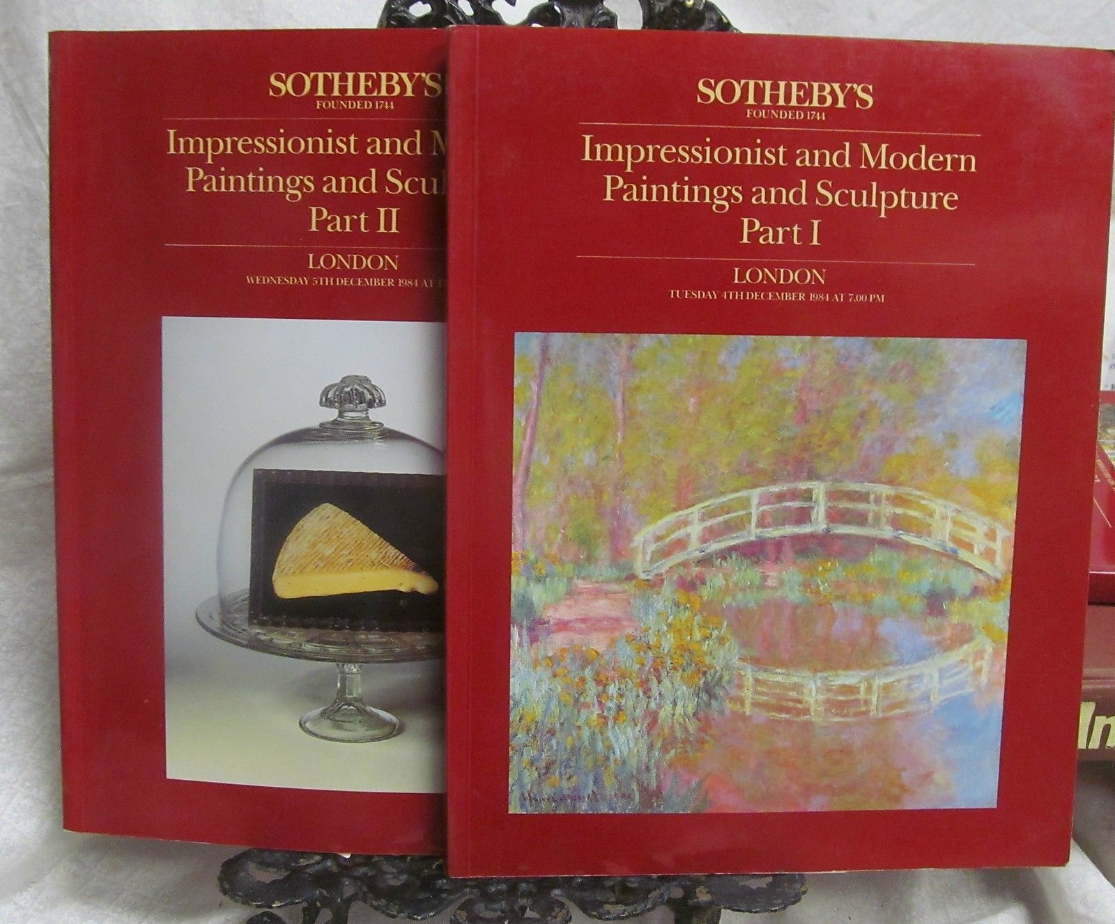 Sotheby's Sale December 1984 Sales Catalogs Parts I and II