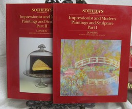 Sotheby's Sale December 1984 Sales Catalogs Parts I and II - $44.10