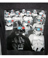 NWT MENS GAP STAR WARS SMALL T SHIRT DARTH VADER STORM TROOPERS MOVIE THEATER