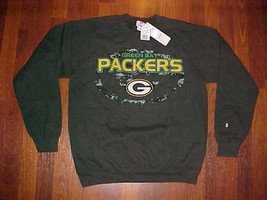 NFL Team Apparel Green Bay Packers Fleece M New Free shipping - $25.73