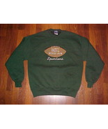AS Sports NCAA Vintage Michigan State Spartans Football Men's Green Flee... - $32.71