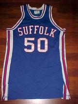 Dol Gray NCAA Suffolk Rams #50 Basketball Jersey 44 NEW - $74.79