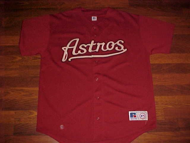 Primary image for Russell Athletic MLB 2000-Pres Houston Astros Jersey L