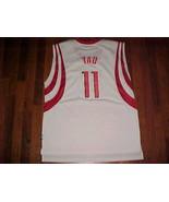 Reebok NBA Houston Rockets Yao Ming #11 White Swingman Jersey XL Free sh... - $55.23