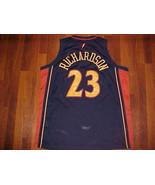 Nike NBA Golden State Warriors Jason Richardson #23 Blue Swingman Jersey... - $49.36