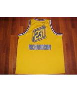 Nike NBA Golden State Warriors Jason Richardson #23 Yellow Swingman Jers... - $49.36
