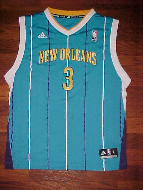 Adidas NBA N.O. Hornets Chris Paul #3 Youth Basketball Jersey L Free shipping image 2