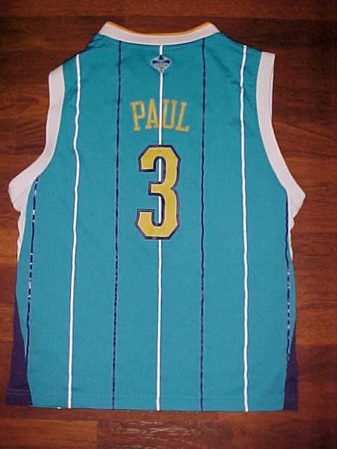 Primary image for Adidas NBA N.O. Hornets Chris Paul #3 Youth Basketball Jersey L Free shipping