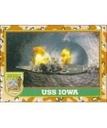 1991 Topps Desert Storm USS IOWA #59 - $0.49