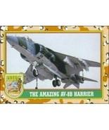1991 Topps Desert Storm THE AMAZING AV-8B HARRIER #32 - $0.49