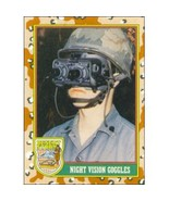 1991 Topps Desert Storm NIGHT VISION GOGGLES #63 - $0.49