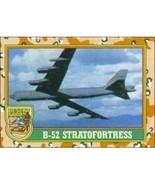 1991 Topps Desert Storm B-52 STRATOFORTRESS #25 - $0.49