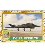 1991 Topps Desert Storm F-117A STEALTH #21 - $0.49