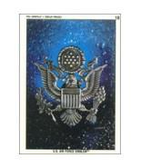 1991 Topps Desert Storm Sticker U.S. AIR FORCE EMBLEM #18 - $0.49